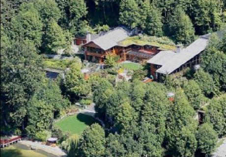 Усадьба Билла Гейтса. Вид сверху